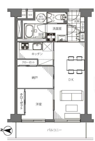サンハイツ錦糸公園 新宿区 中古マンション  リノベーション