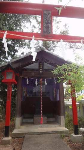 倉賀野神社内 北向道祖神