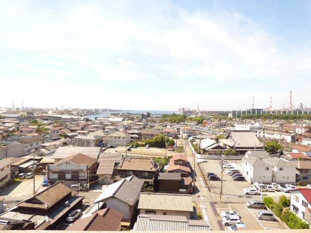 エンブレイス加古川別府9階のお部屋からの眺望のご紹介♪