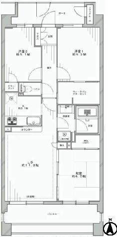オーベル練馬センティア 新宿区 中古マンション  リノベーション