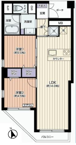 市ヶ谷左内坂ハイム 新宿区 マンション リノベーション