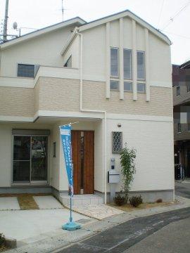 2号地モデルハウス外観
