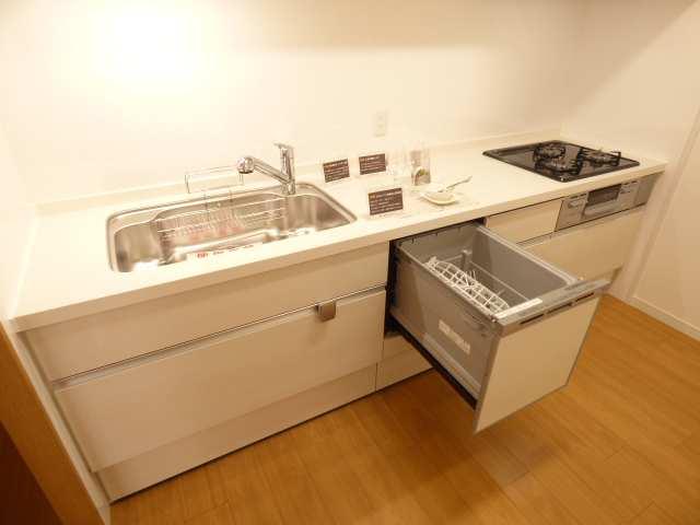 オーズタウンイーストスクエアⅡ番館♪3階リフォーム済み♪キッチンのご紹介♪