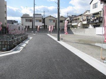 分譲地内の開発道路