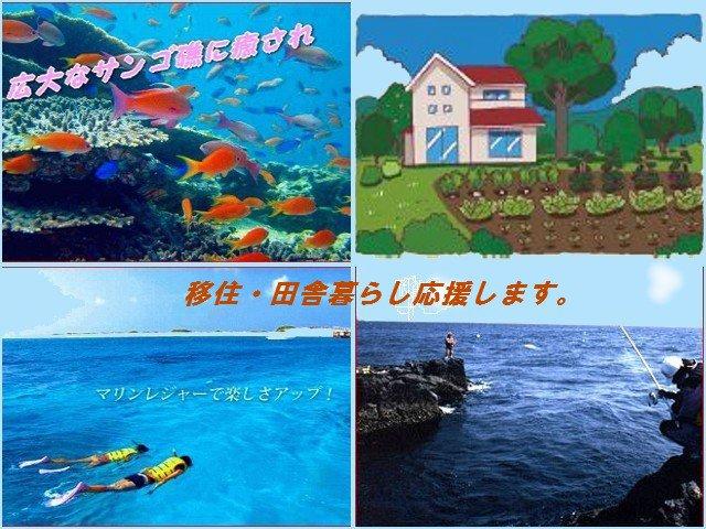 中古住宅・中古戸建て住宅があります、宿毛市・四万十市・大月町・清水市に永住しませんか。田舎暮らし・釣り好き応援します!