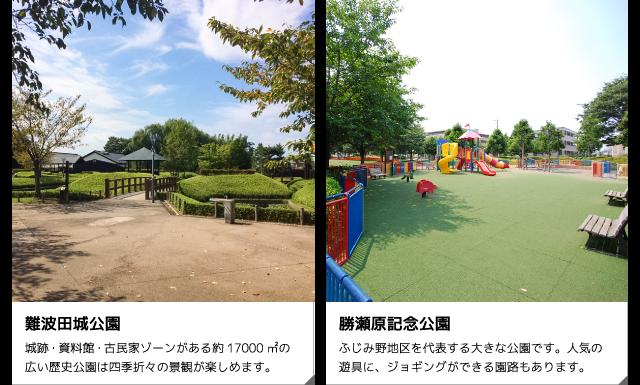 難波田城公園/勝瀬原記念公園