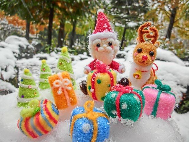 クリスマス♪ お客様へ 少しでも ウキウキ♪ ワクワクを♪ フジ不動産♪