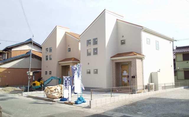 播磨町二子の新築一戸建て♪現地外観のご紹介♪