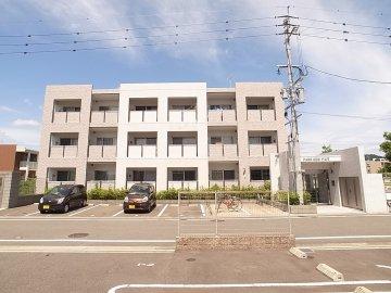 パークサイドアコワ外観 九州大学 伊都キャンパス 学生マンション 一人暮らし