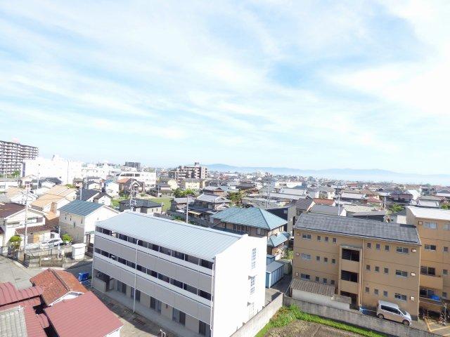 お部屋からの眺望♪淡路島♪明石大橋♪明石海峡♪がよく見えます♪