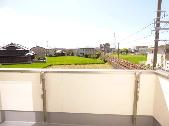 2階バルコニーからの眺望です♪眺望良好です♪陽当たりとても良好です♪