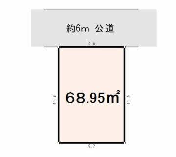 中青木 区画図
