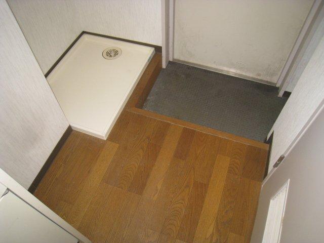 洗濯機は室内設置可能です