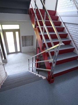 プリムヴェール 階段 共用部 九州大学 伊都キャンパス そば 徒歩