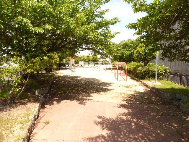 お隣の公園です♪緑が豊かです♪