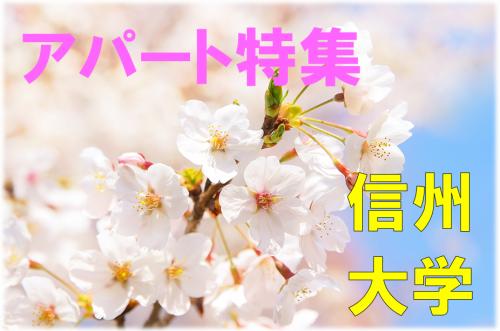 信州大学松本キャンパス 学生おすすめアパート