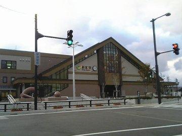 新津駅東口