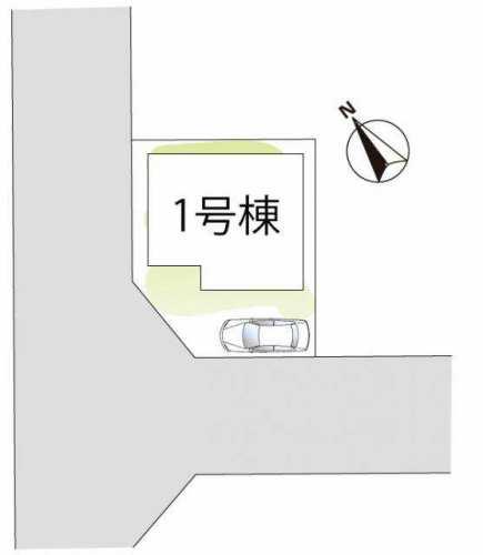 加古川市野口町長砂の新築一戸建ての区画図のご紹介♪