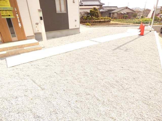 加古川市野口町の新築一戸建て♪お庭のご紹介♪