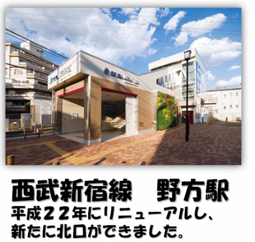 西武新宿線 野方駅
