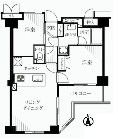 オーベル本所吾妻橋 新宿区 中古マンション  リノベーション