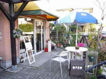 明王台の小さなカフェ