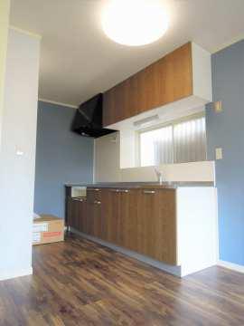 キッチン ゆったりサイズのキッチン