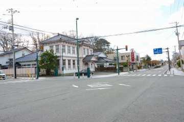 駅前のメインストリート