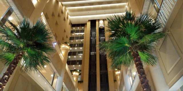 神戸メリケンパークオリエンタルホテル♪ロビーにて♪