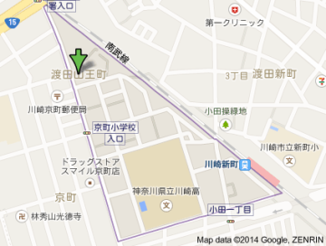 渡田山王町