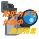 防犯カメラ作動中特集
