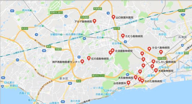 神戸市須磨区 動物病院