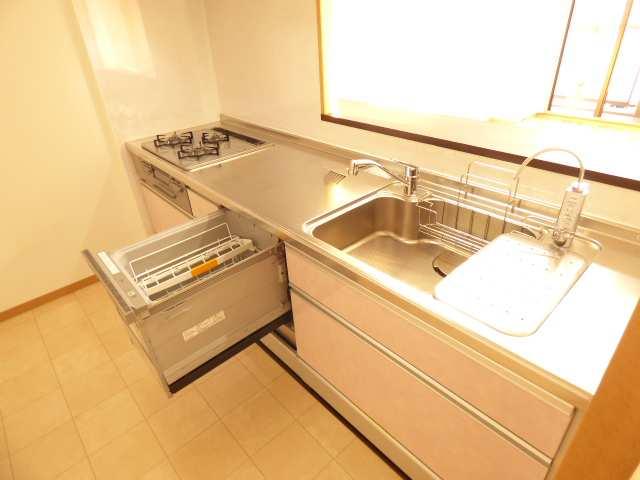 【エンブレイス加古川別府、9階角部屋】システムキッチンのご紹介♪