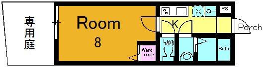 1階、01~08号室