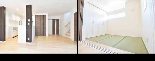 LDK、和室