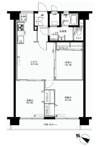 戸山ハイツ27号棟 新宿区 中古マンション  リノベーション