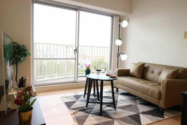 LDKです♪リフォーム済みで室内とても綺麗です♪(家具などは付いておりません。装飾品です♪)