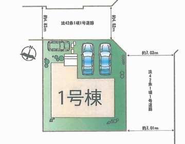 青山台区画図