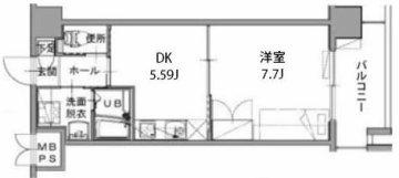 九州大学 伊都キャンパス マンション カーサフィオーレ Cタイプ