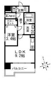 6号室間取り図