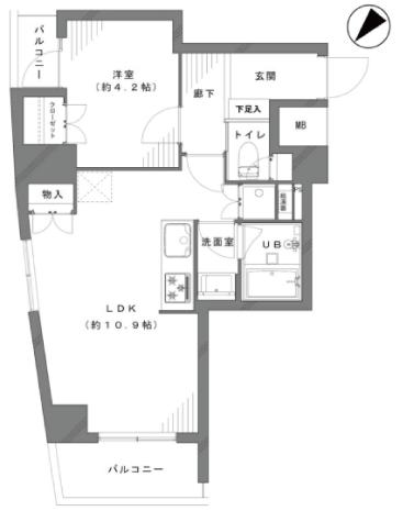 東和パークハイツ墨田 新宿区 中古マンション  リノベーション