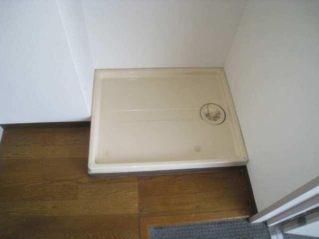 洗濯機も室内に設置できます