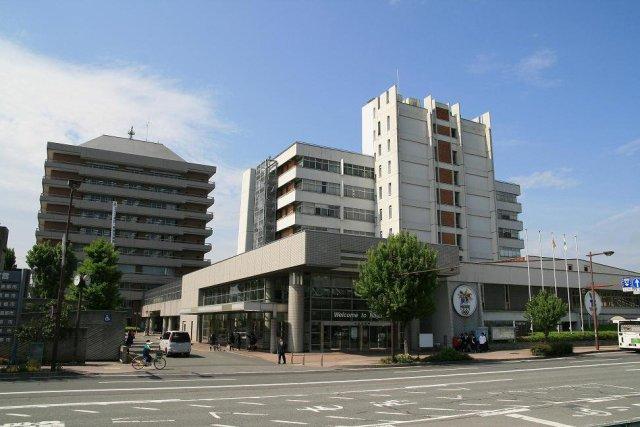 長野市役所の外観です。