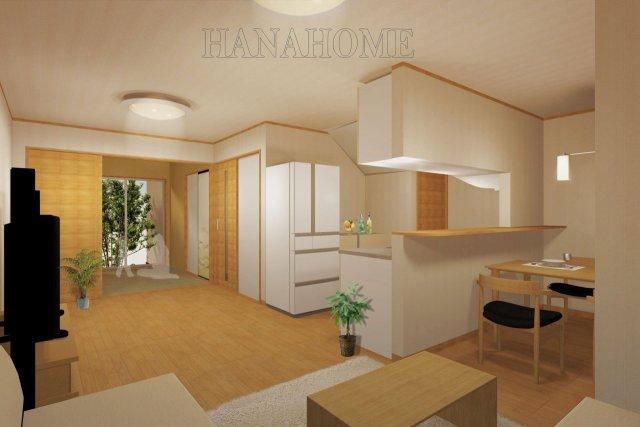 キッチンor和室・中庭