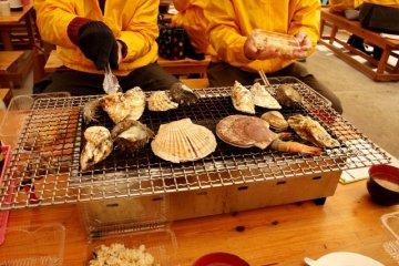 糸島の牡蠣は絶品♪