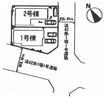神陵台 区画図