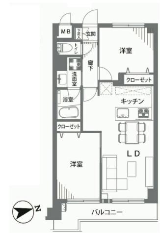 ナイスアーバン亀戸俵山ビル 新宿区 中古マンション  リノベーション