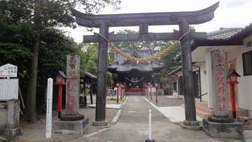 倉賀野神社と倉賀野城址公園