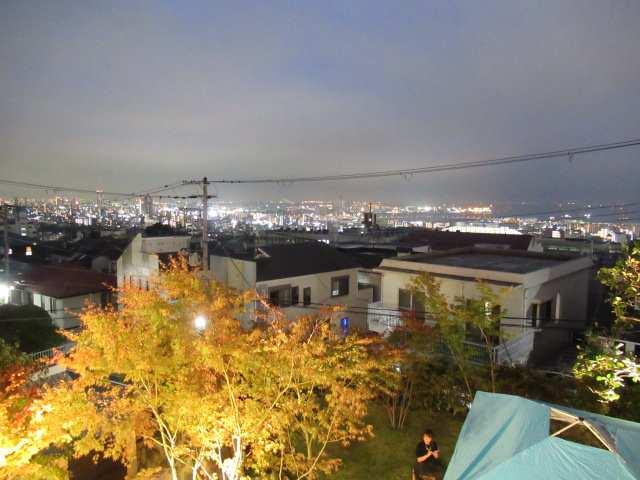 夜景もキレイでした!