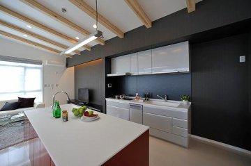 モデルハウス写真(キッチン)
